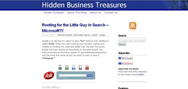 Our new location for www.hiddenbusinesstreasures.com